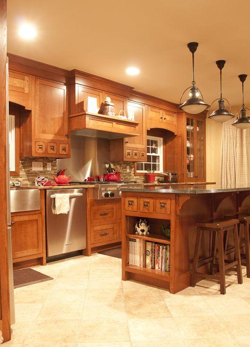 Craftsman kitchen remodel, Remodeled our builder grade kitchen into ...