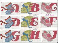 Angela Embroidery: Alphabet cross stitch