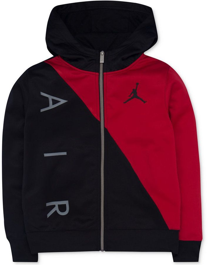 4a1e929fc3 Jordan 23 Full-Zip Hoodie, Big Boys (8-20) | Products | Full zip ...