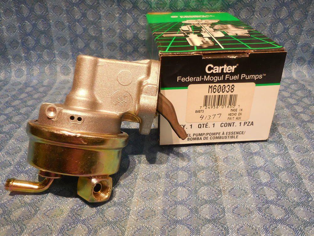 Carter M60509 Mechanical Fuel Pump