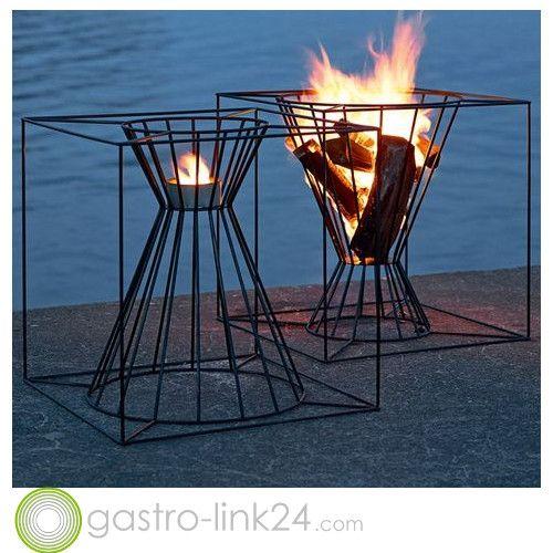 Design Feuerstelle für den Garten | Design Feuerstellen | Pinterest