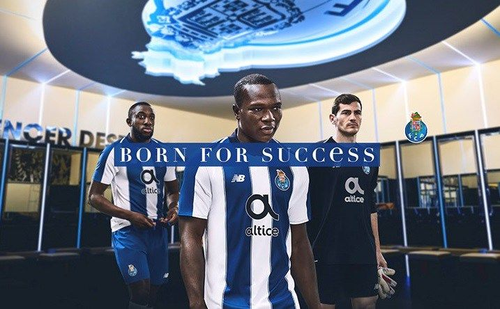c12af7b50 Today New Balance has unveiled the new 2018 19 FC Porto home kit. The