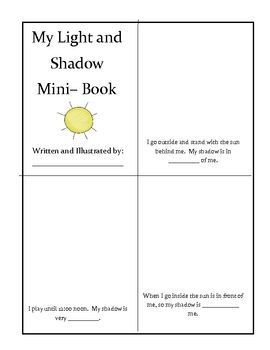 Light And Shadow Freebie Shadow Science Activities Light And