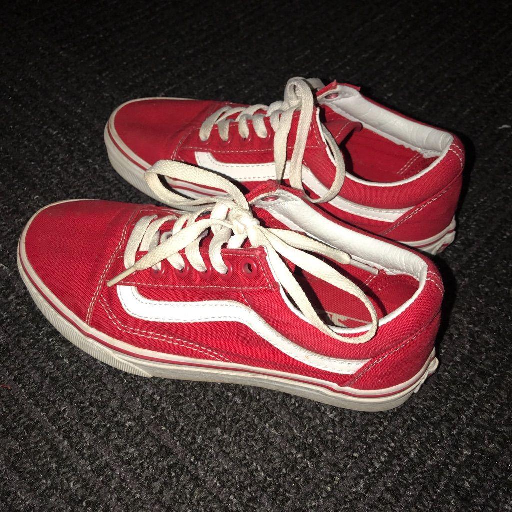 Vans Shoes   Red Vans   Color: Red