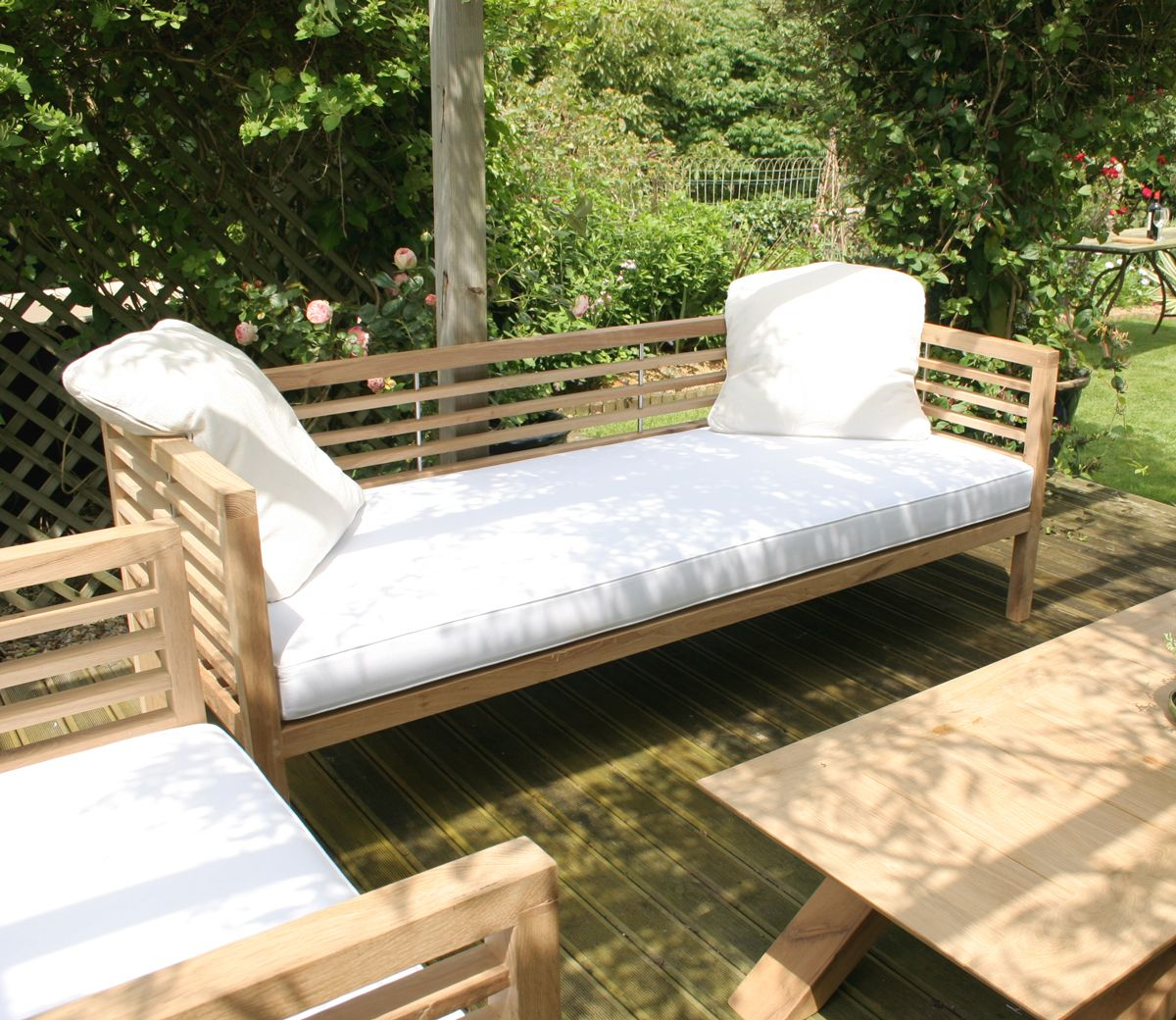 Loire Garden Bench Day Bed With Images Furniture Bespoke
