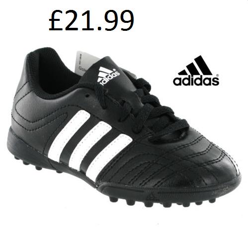 kids adidas trainers size 10