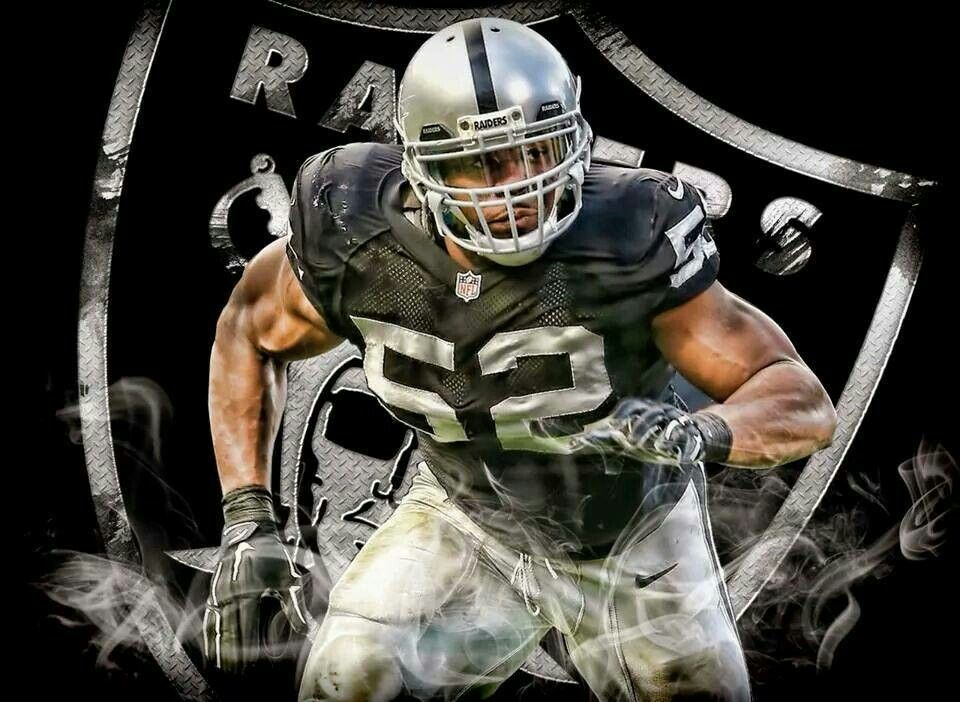 31466da4 Silver and Mack Attack! Khalil Mack #52 baby! | Raiders | Raiders ...