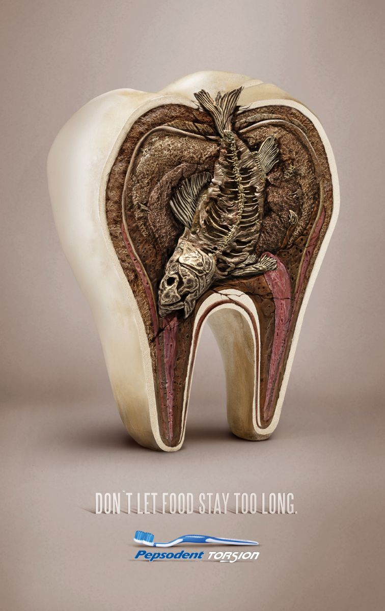 This explains the smelly kiss | Bored | Creative advertising, Print