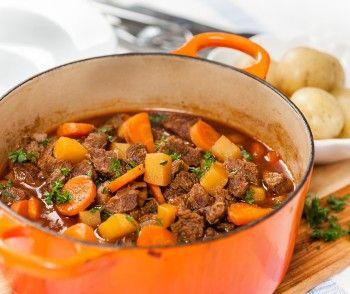Fall Stew Mat Recept Grytstek