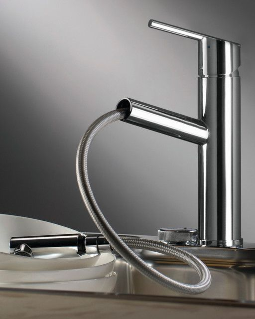 Trento kitchen faucet from Italy with pull-out spray $676 | Webert ...