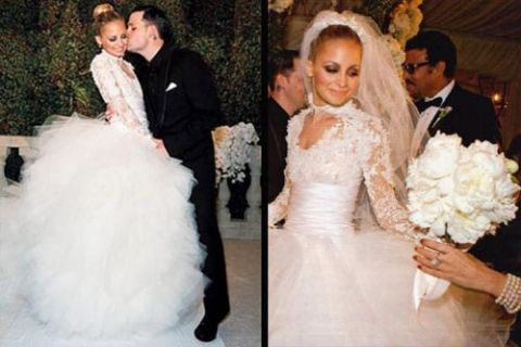 nicole richie wedding dress soooo cute! | Happily ever after ...