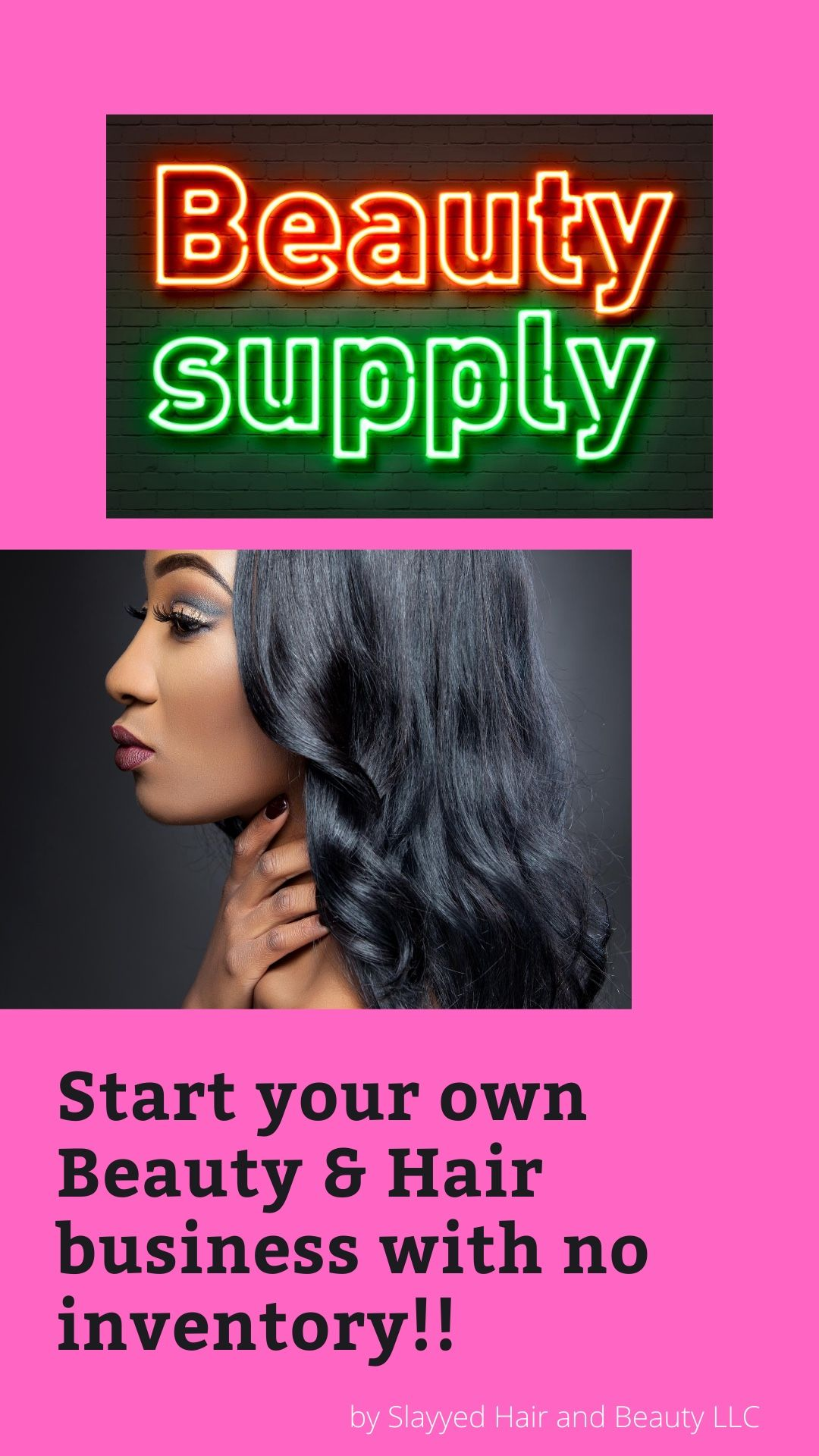 7 Steps To Opening Your Own Beauty Store No Inventory Needed Business Hairstyles Beauty Supply Hair And Beauty Salon