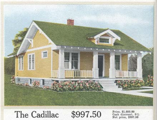 Aladdin Kit Home Quot The Cadillac Quot 1917 House Exteriors