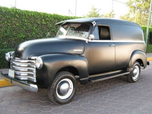 Chevrolet Panel Van Reduced For Sale 1950 American Pickup