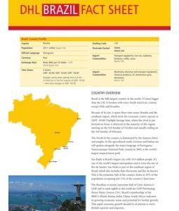 Exporting To Brazil Dhl Fact Sheet Fact Sheet Brazil Facts Brazil