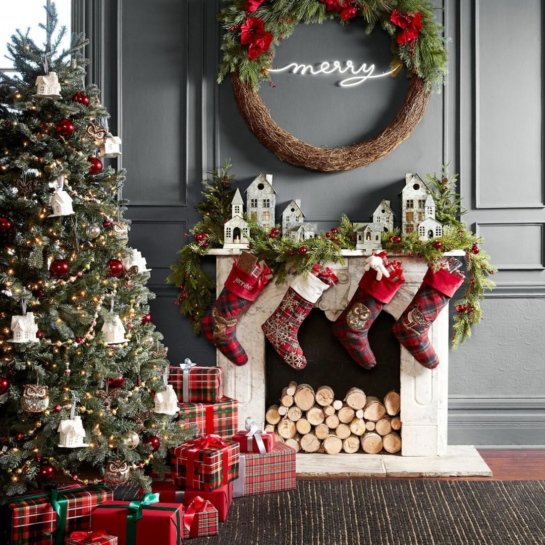Pottery Barn On Instagram Two Days Until Christmas Head To Your Local Pottery Barn For All Of Your Grab An Christmas Home Holiday Decor Days Until Christmas