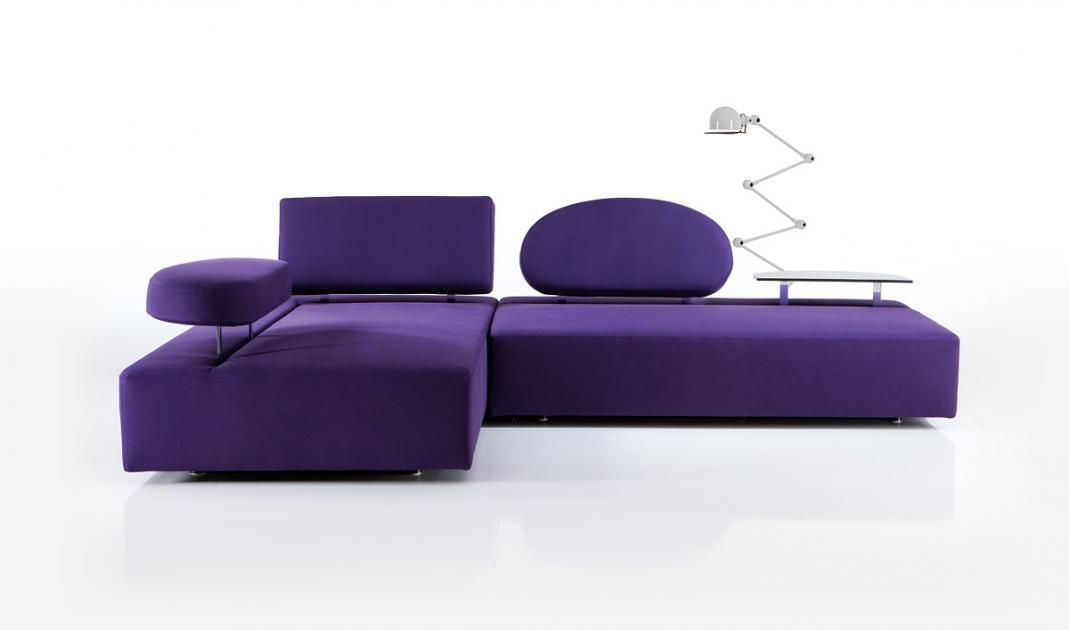Moderne Modul-Sofas - flexible Polstermöbel