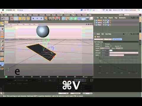 Basic Cinema 4D tutorials Part 5 Dynamics - YouTube