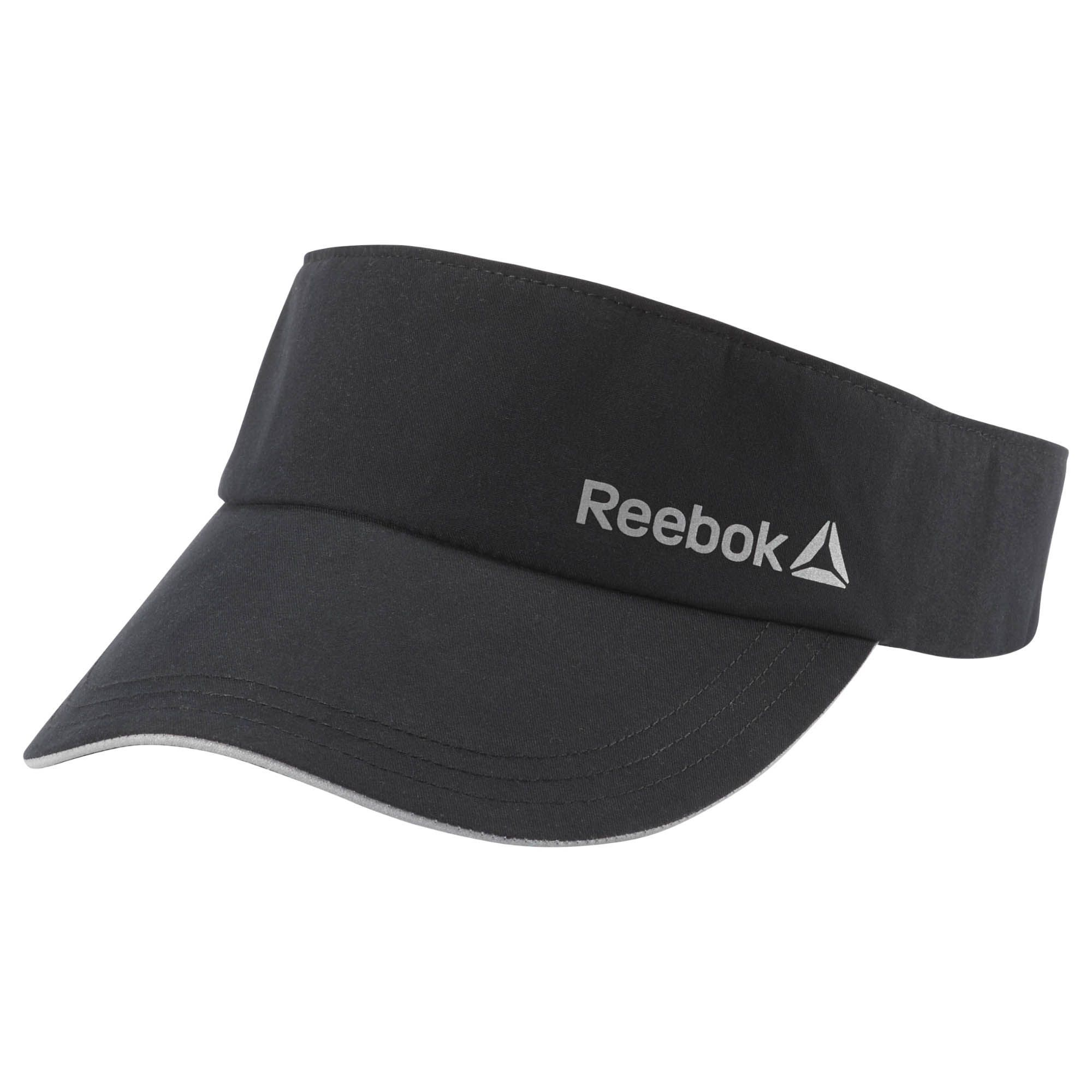 ac7045bb0ea61 Shop for Running Performance Visor - Black at reebok.com. See all the  styles and colors of Running Performance Visor - Black at the official  Reebok US ...