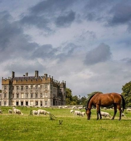 Borris House in County Carlow is the ancestral home of the MacMurrough Kavanaghs, Kings of Leinster, and is one of the few Irish estates that can trace its history back to the royal families of ancient Ireland.