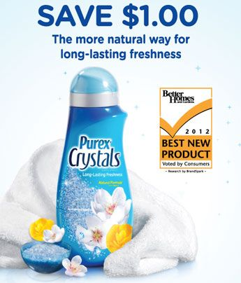 This Coupon Offer Has Ended Get A Printable Coupon For Purex Crystals On The Purex Facebook Page Purex Crystals Purex Coupons