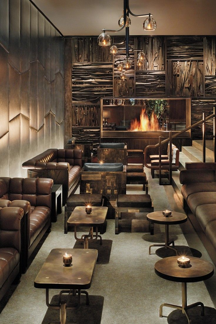 Royalton Hotel (New York City, NY Restaurant interior