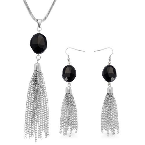 TJC Women Crystal Chandelier Earrings Silver Tone gcezIw