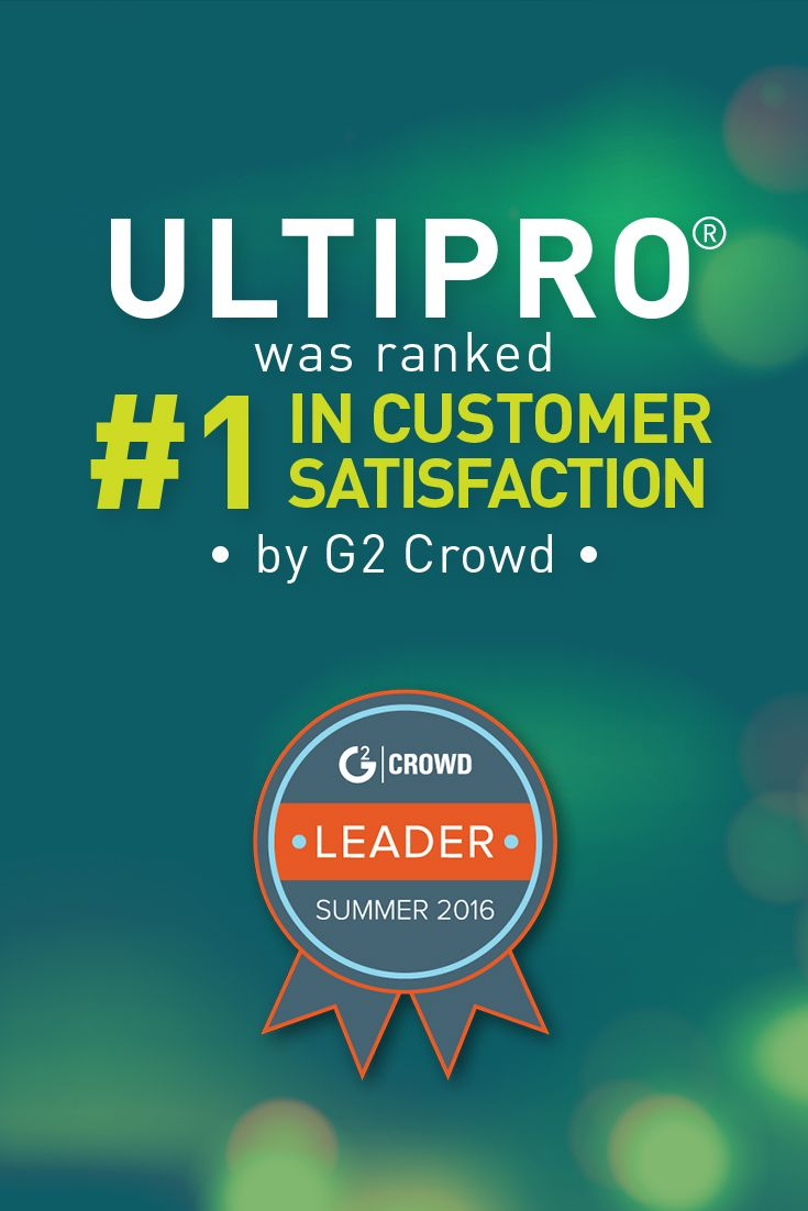 Ultimate Software Named Leader In Core Hr Software With Highest Overall Satisfaction Cited In Just Released Core H Hr Management Payroll Software Management