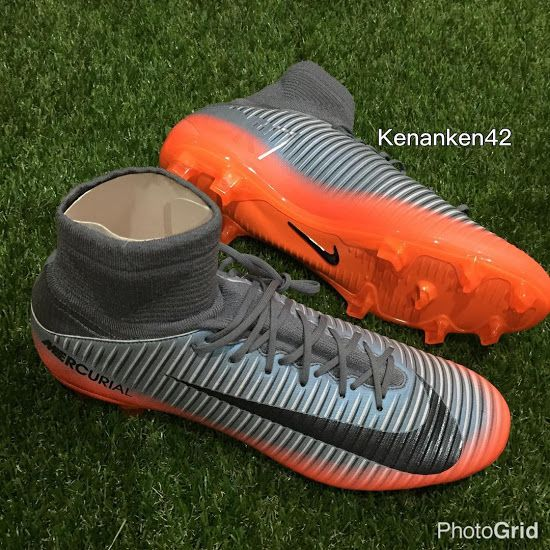 a0868ee2139d9 The Nike Mercurial Superfly Cristiano Ronaldo 2017 Chapter 4 cleats  introduce a stunning design in silver and orange.