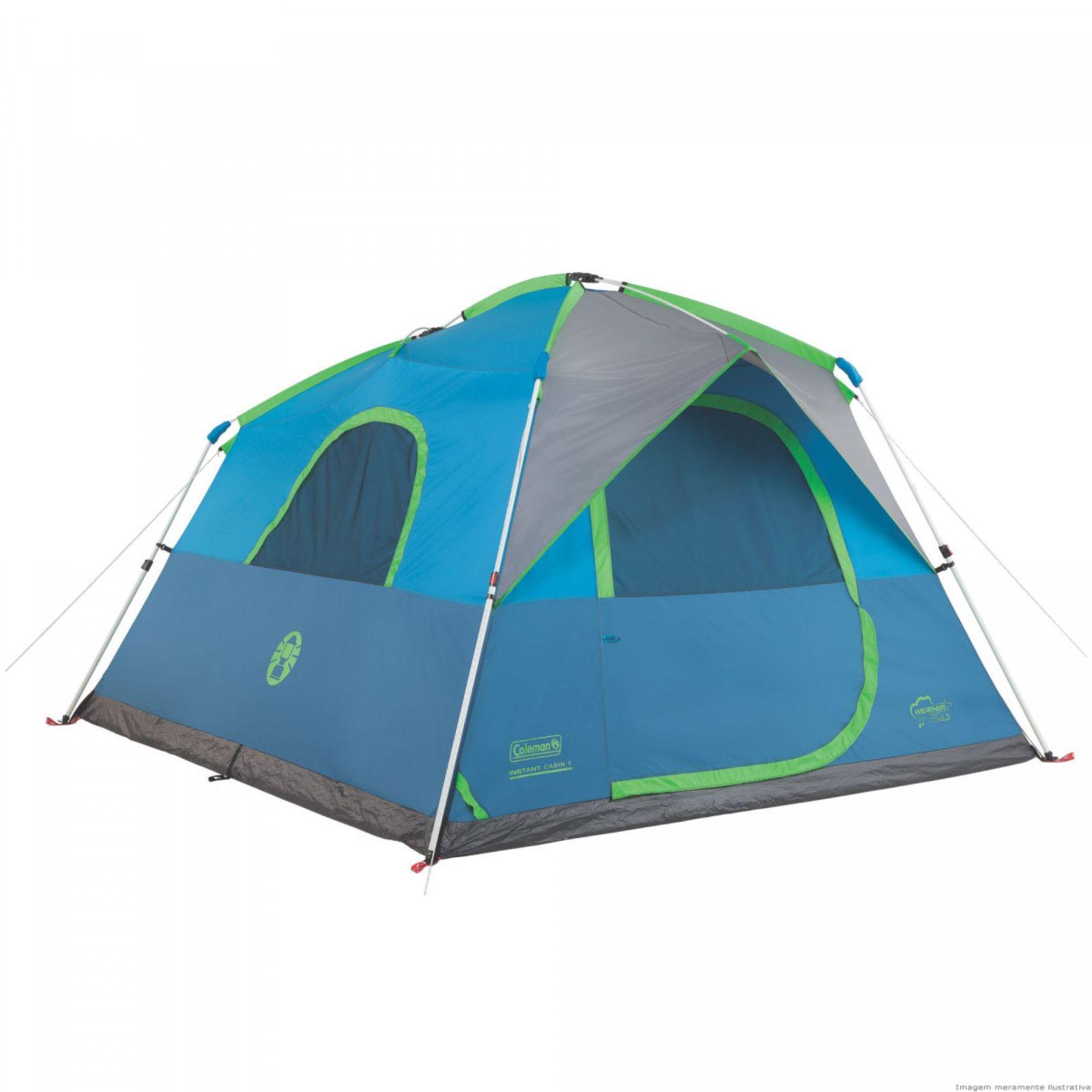 Barraca de Camping Coleman Signal Mountain 6 pessoas
