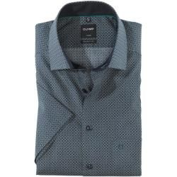 Photo of Olymp Luxor camisa meia manga, ajuste moderno, Global Kent, Verde, 43 Olymp