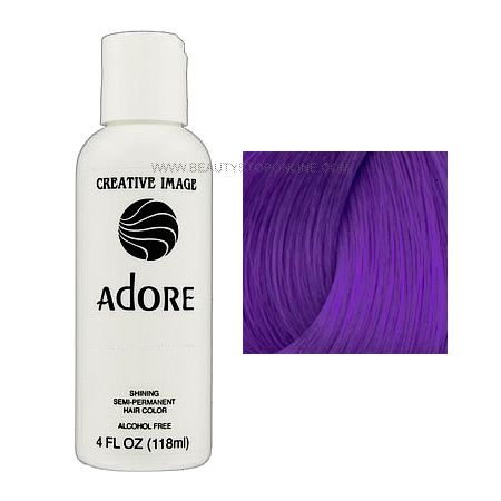 Adore Shining Semi Permanent Hair Color 113 African Violet