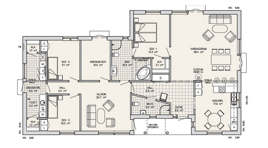 Gronas Floor Plan