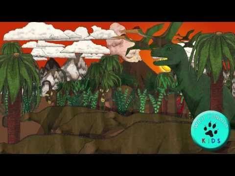 Tyrannosaurus Rex Song, T-Rex Song, Dinosaur Song for Kids