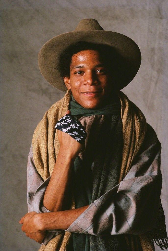 JeanMichel Basquiat photographed by Yutaka Sakano in