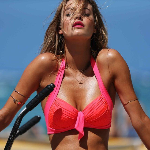 fancy neon pink goddess bikini by seafolly all things p i n k. Black Bedroom Furniture Sets. Home Design Ideas