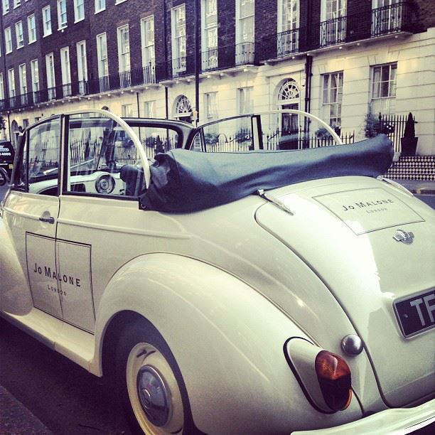 Scent around town - from Jo Malone London Facebook