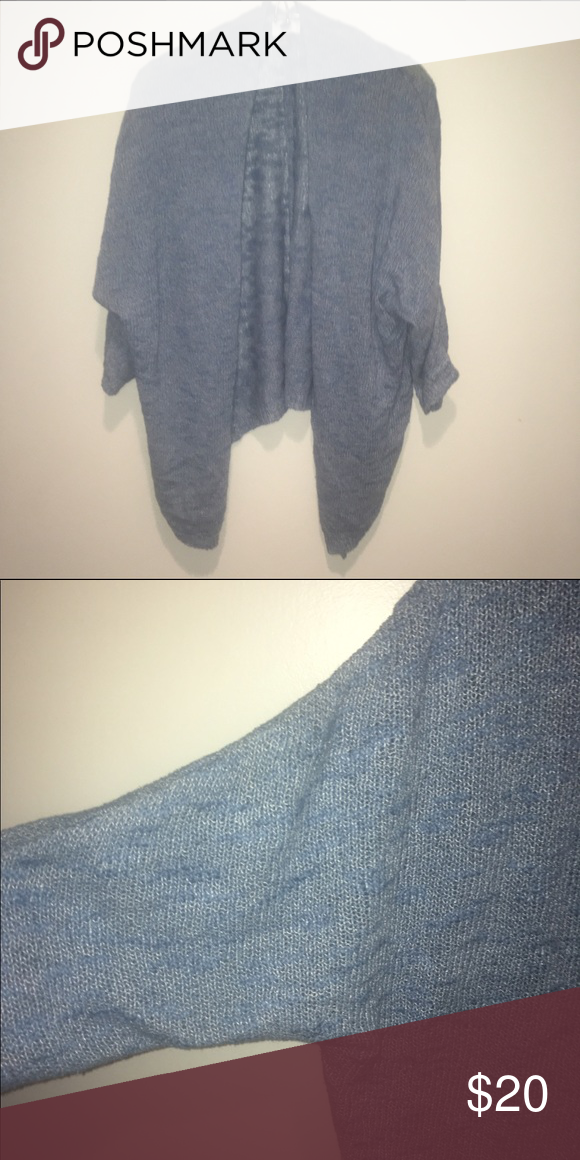 Light blue shrug sweater Lightweight sweater that is good for ...