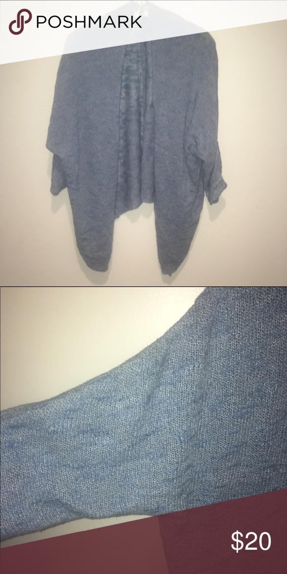 Light blue shrug sweater Lightweight sweater that is good for ...