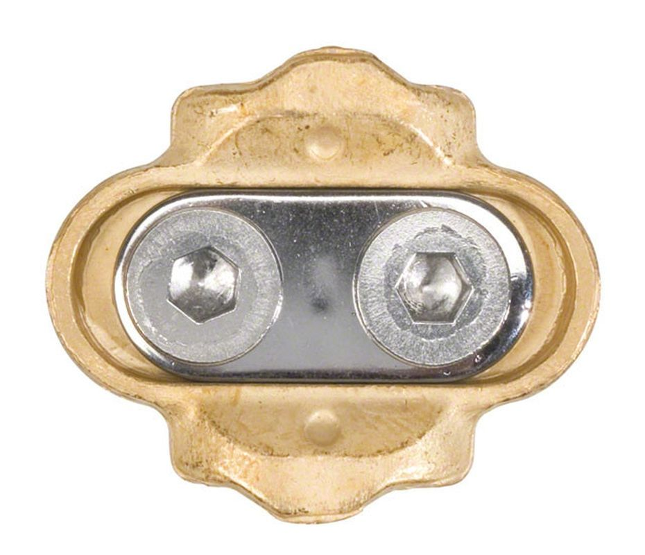 Crank Brothers Premium Cleats Ultra Durable Brass with 6 degrees of Float