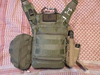 VISM by NcStar PVC First Responders Utility Bag CVRB2918B Black