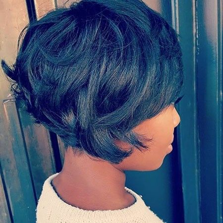 Pretty Color Source Curly Hair Chic Braided Pixie Haircut Idea For Black Women Short Bob Very Copper