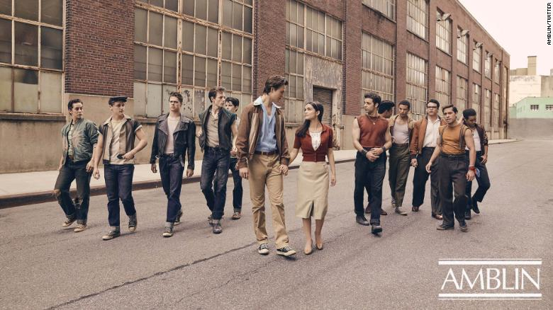 Steven Spielberg S West Side Story Remake Shares Its First Cast Photo Cnn West Side Story West Side Story Movie Steven Spielberg