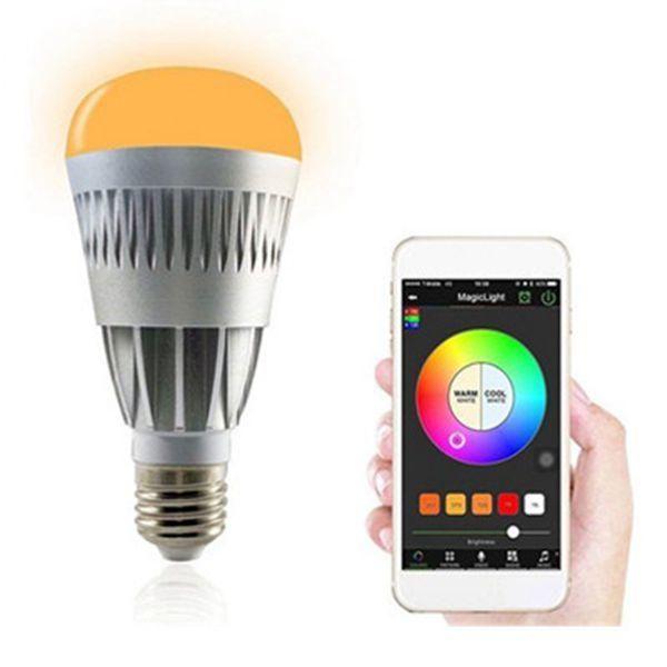 E26 10w Rgbw Wireless Bluetooth Smart Led Light Bulb App Control