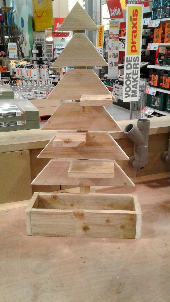 kerstboom praxis 2020 Maak je eigen houten kerstboom   Stappenplan   Christmas decor diy