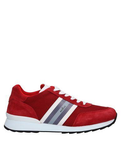 Hogan Uomo Sneakers & Tennis shoes basse Rosso Taglia 45 Pelle ...