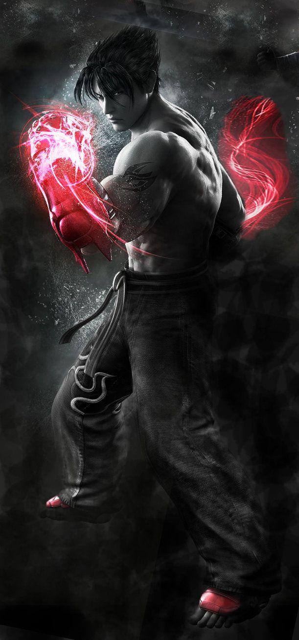 Jin Kazama Poster By Yoshi Lee Deviantart Com On Deviantart Jin Kazama Tekken 7 Jin Gaming Wallpapers