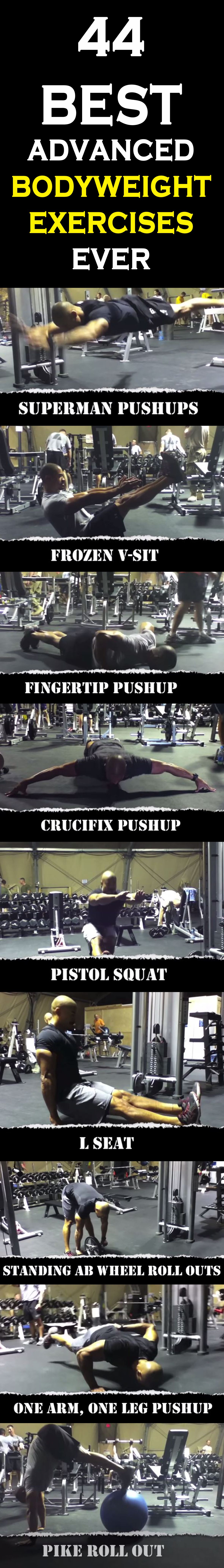 best bodyweight exercises ever exercise workout fitness