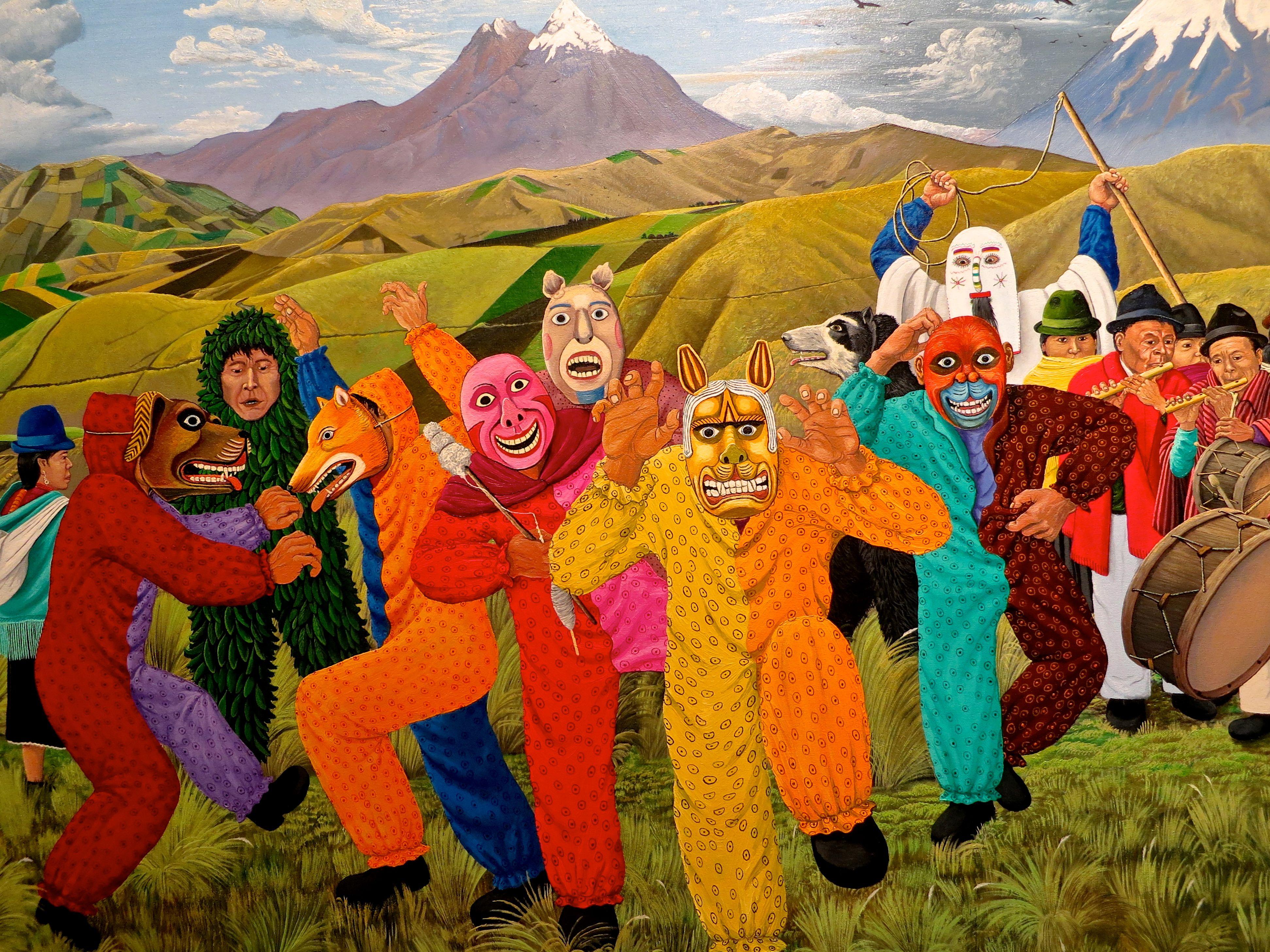 TIGUA PAINTING | Art, Folk art, Painting