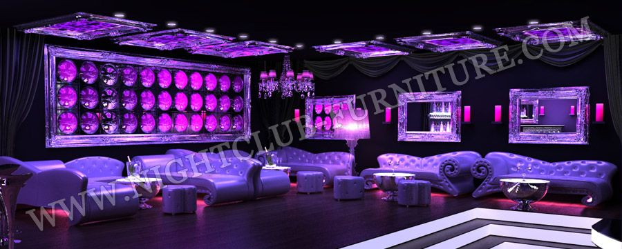 Nightclub Furniture - Disco Sofas, Baroque furniture, Disco ...